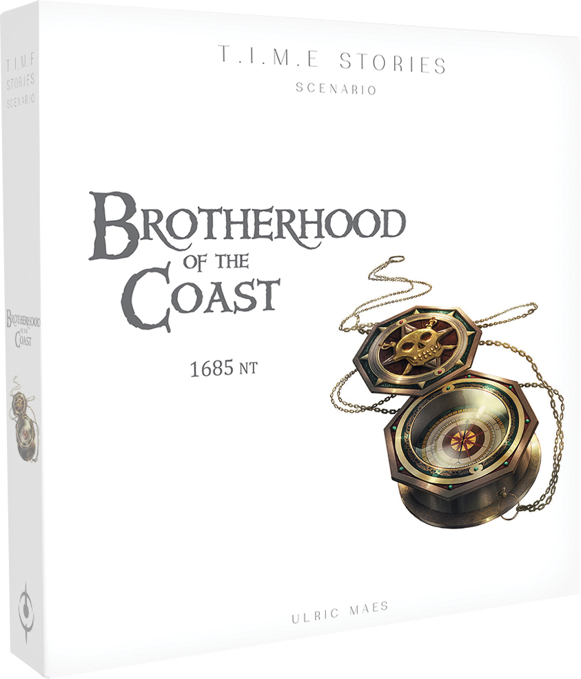 Time Stories: Brotherhood Of The Coast Expansion Box Front