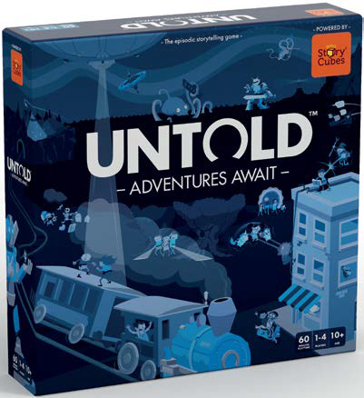Rory`s Story Cubes: Untold - Adventures Await Game Box