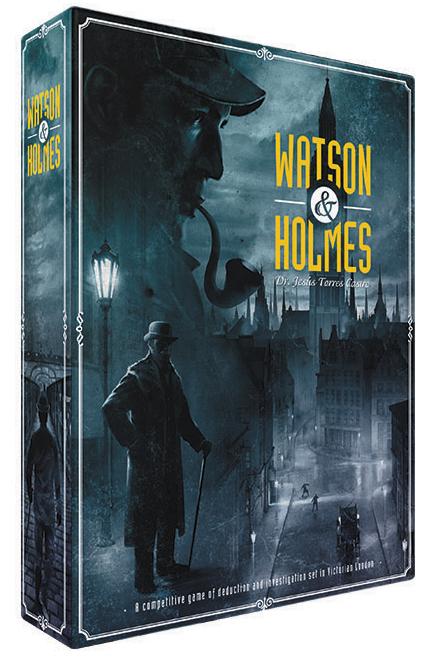 Watson And Holmes Box Front