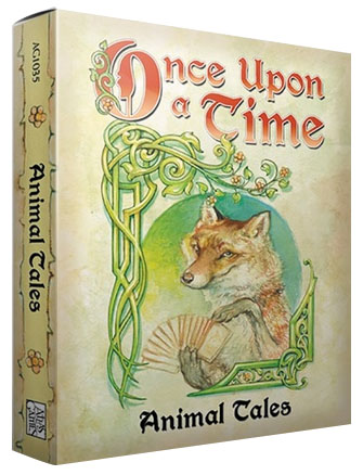 Once Upon A Time: Animal Tales Expansion Box Front