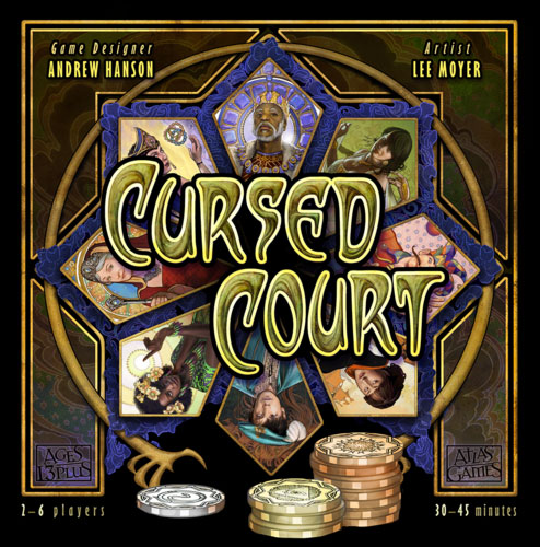 Cursed Court Box Front