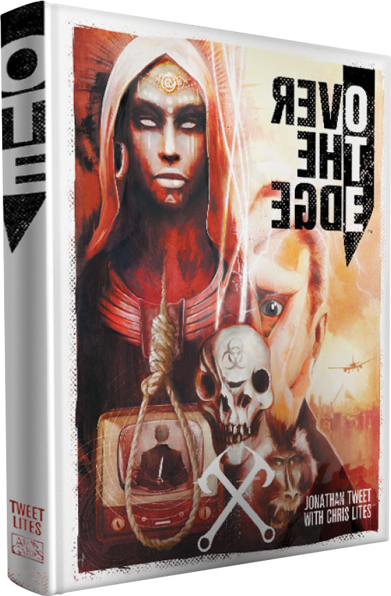 Over The Edge Rpg Hardcover Game Box