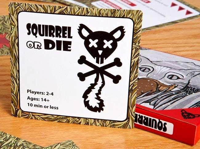Squirrel Or Die Box Front