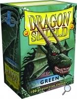 Dragon Shields: (100) Green Box Front
