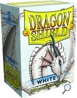 Dragon Shields: (100) White Box Front
