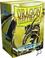 Dragon Shields: (100) Gold Box Front