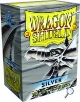 Dragon Shields: (100) Silver Box Front