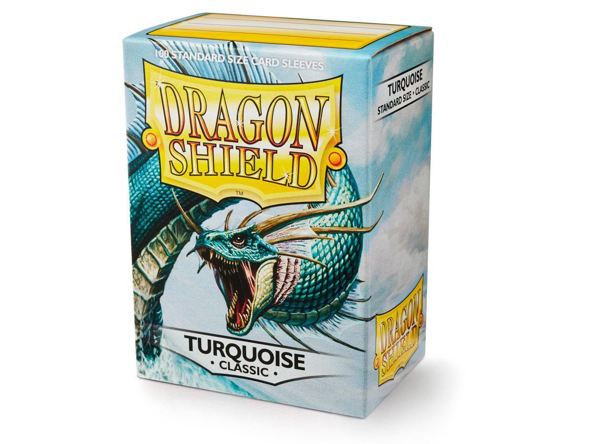 Dragon Shields: (100) Turquoise Game Box