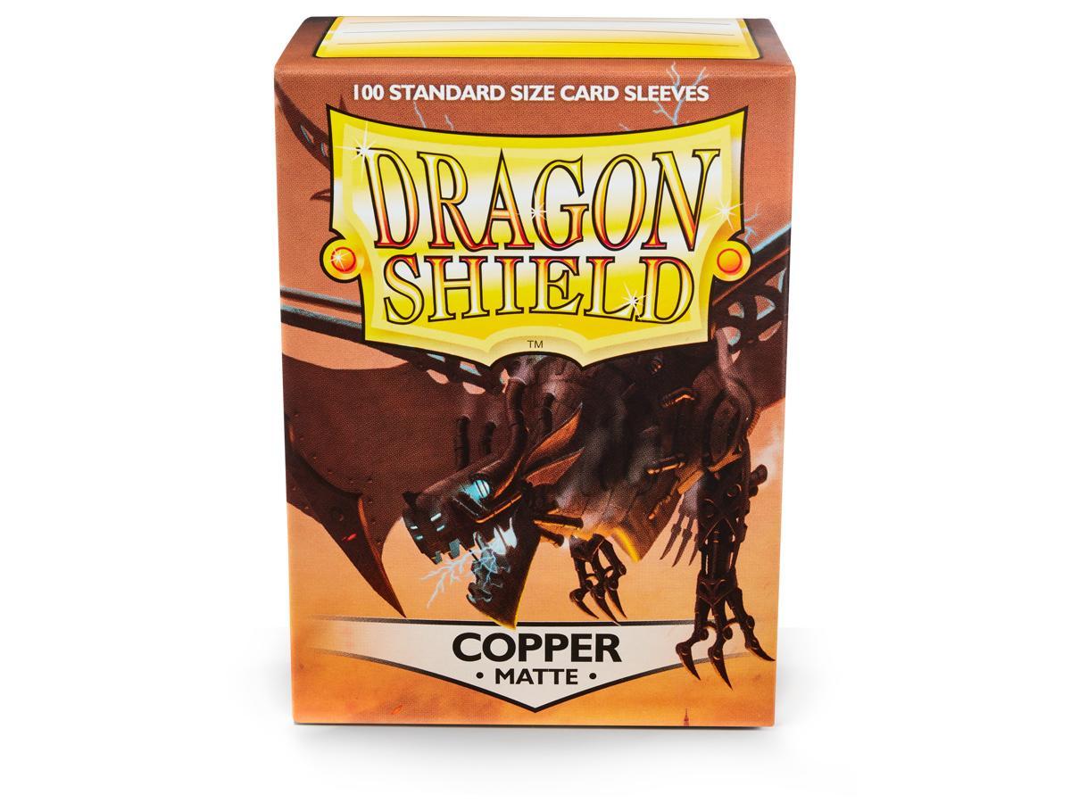 Dragon Shields: (100) Copper Game Box