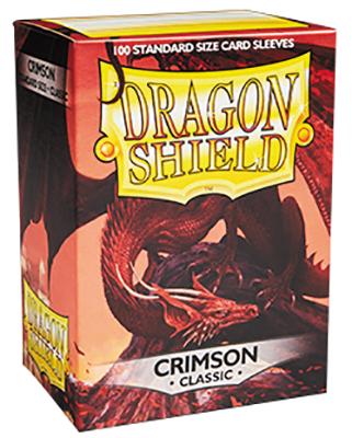 Dragon Shields: (100) Crimson Box Front