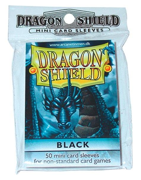 Dragon Shields Mini: (50) Black Box Front