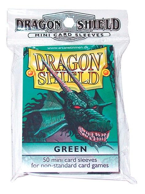 Dragon Shields Mini: (50) Green Box Front