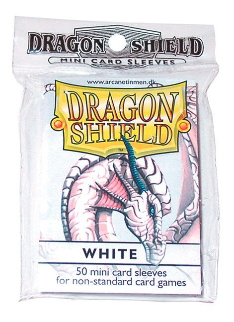 Dragon Shields Mini: (50) White Box Front