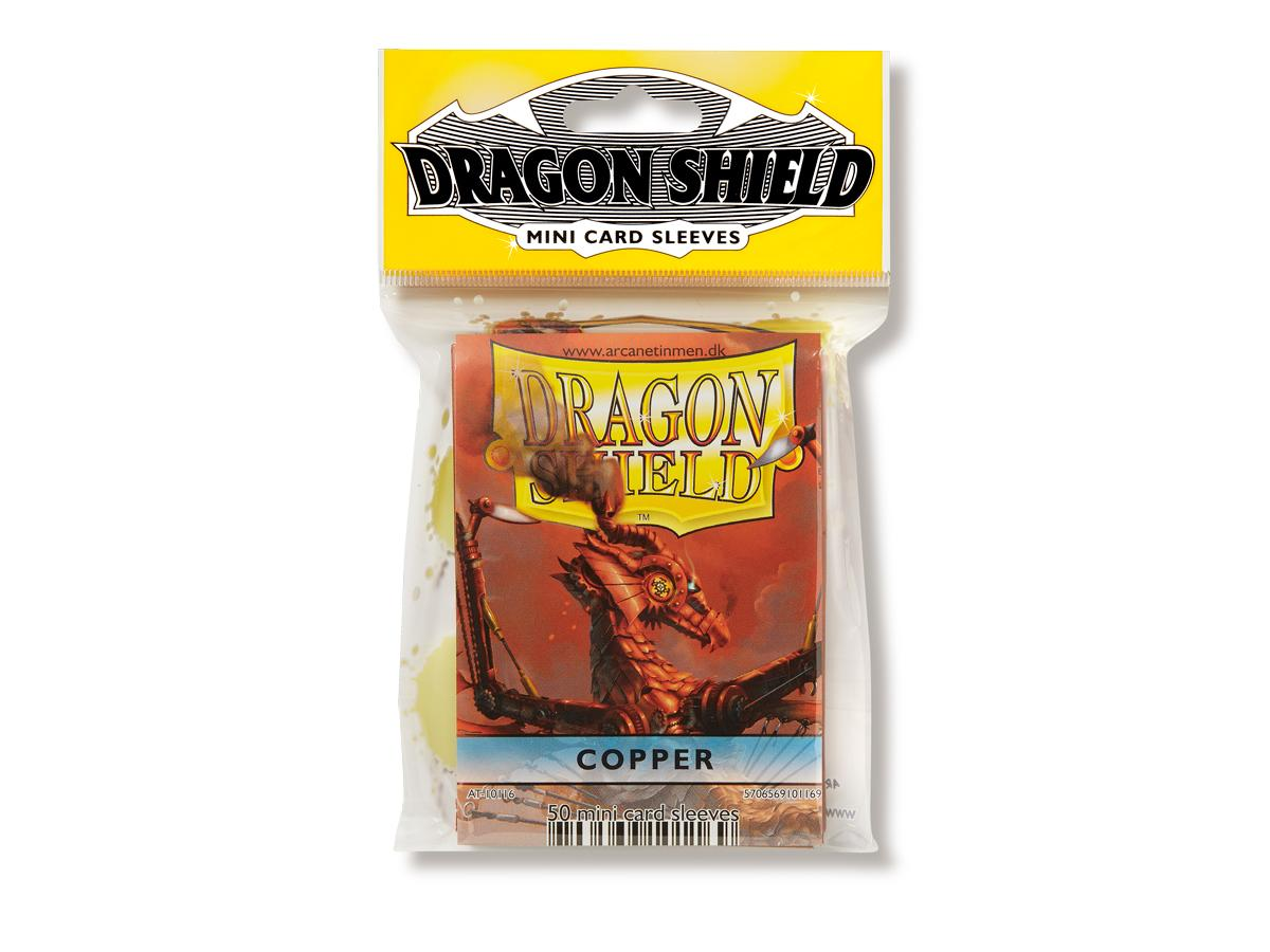 Dragon Shields Mini: (50) Copper Game Box