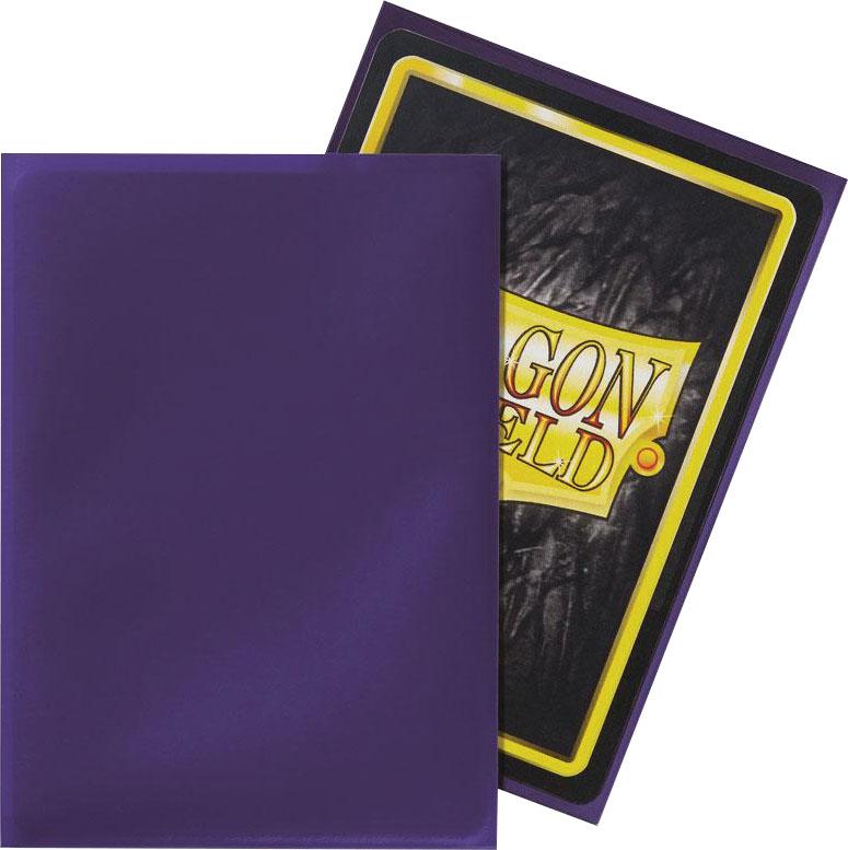 Dragon Shields: (50) Classic Purple Game Box