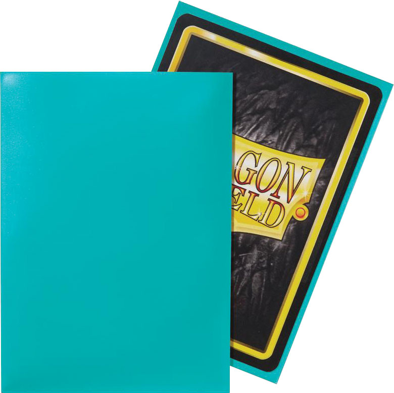 Dragon Shields: (50) Classic Turquoise Game Box