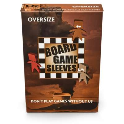 No Glare Oversize Board Game Sleeves (82x124mm) (50) Game Box