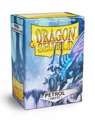 Dragon Shields: (100) Matte Petrol Box Front