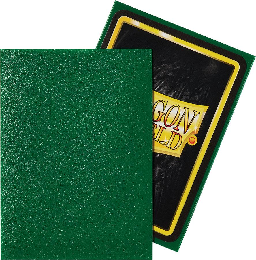 Dragon Shields: (100) Matte Emerald Game Box