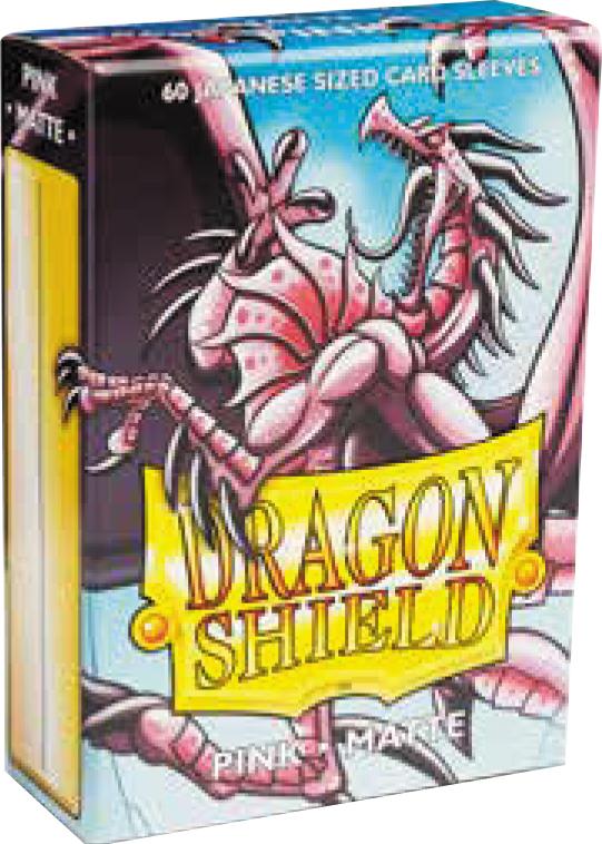 Dragon Shields Japanese: (60) Matte Pink Box Front
