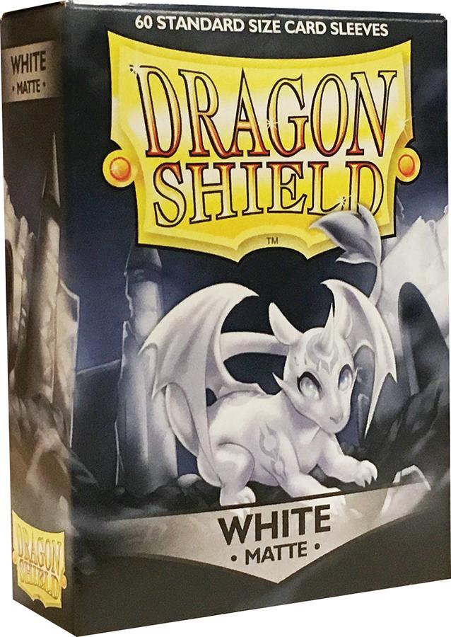 Dragon Shields: (60) Matte White Box Front