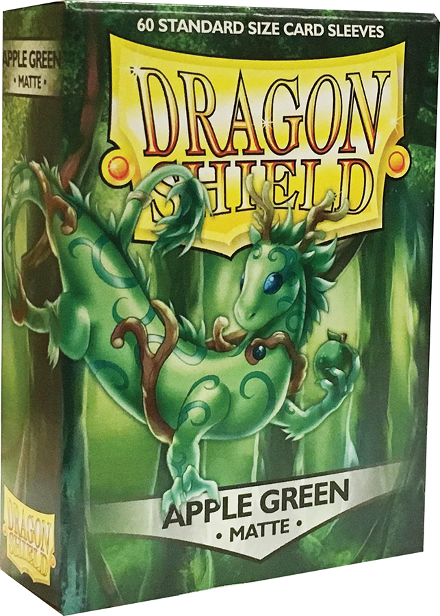 Dragon Shields: (60) Matte Apple Green Box Front