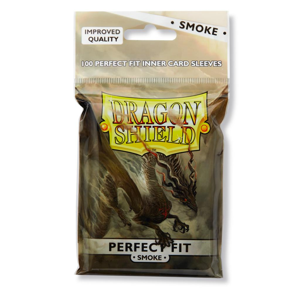 Dragon Shields Perfect Fit: (100) Smoke Game Box