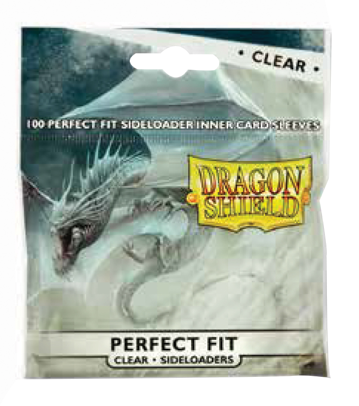 Dragon Shields Perfect Fit: (100) Side-loading Clear Box Front