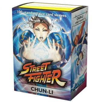 Dragon Shields: (100) Street Fighter Chun-li