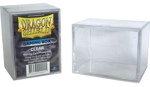 Dragon Shield: Gaming Box Clear Game Box