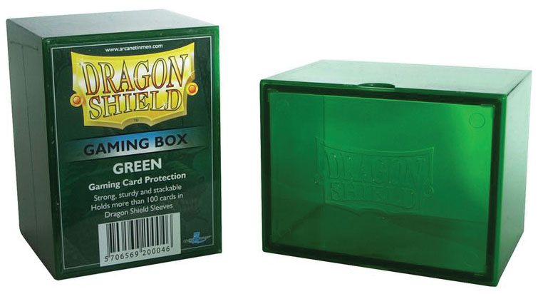 Dragon Shield: Gaming Box Green Game Box