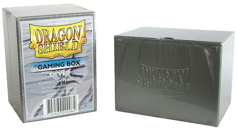 Dragon Shield: Gaming Box Silver Game Box