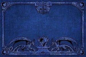 Dragon Shield: Playmat Blue Box Front