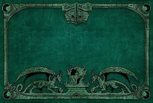 Dragon Shield: Playmat Green Box Front