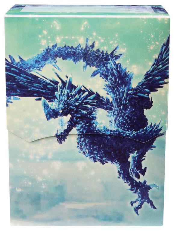 Dragon Shield: Art Deck Shell Clear Blue Game Box