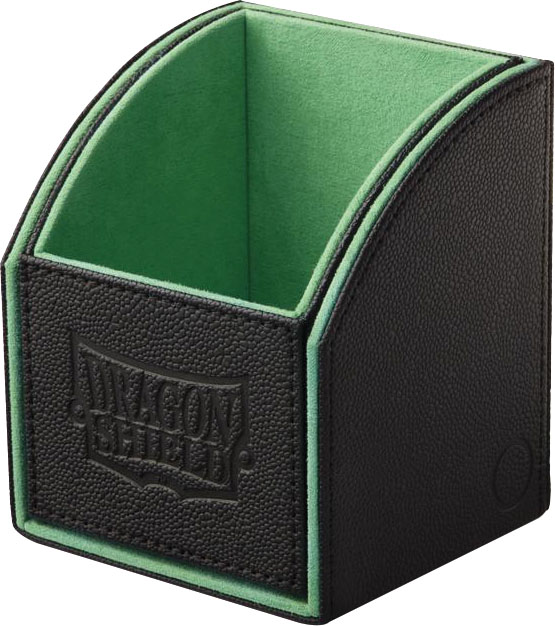 Dragon Shield: Nest Box Black/green Game Box