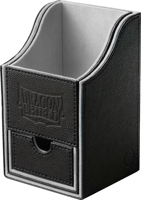 Dragon Shield: Nest Box + Black/light Grey Game Box