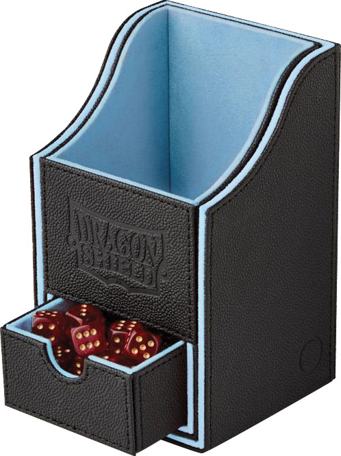 Dragon Shield: Nest Box + Black/blue Game Box