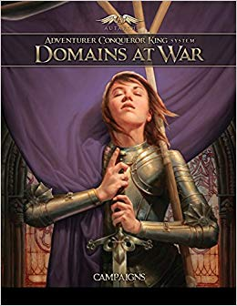 Adventurer Conqueror King System: Domains At War - Campaigns Game Box