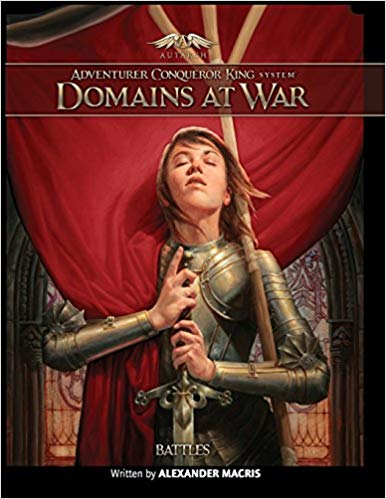 Adventurer Conqueror King System: Domains At War - Battles Game Box