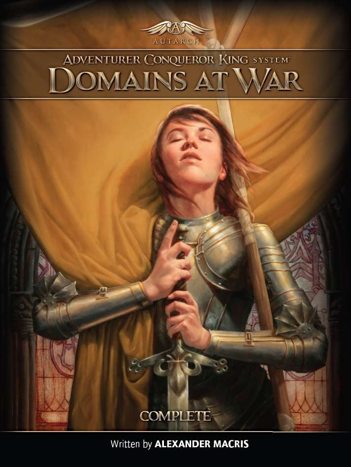 Adventurer Conqueror King System: Domains At War - The Complete Set Game Box