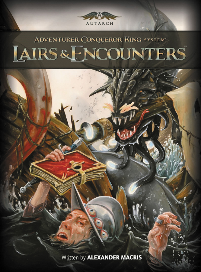 Adventurer Conqueror King System: Lairs & Encounters Box Front