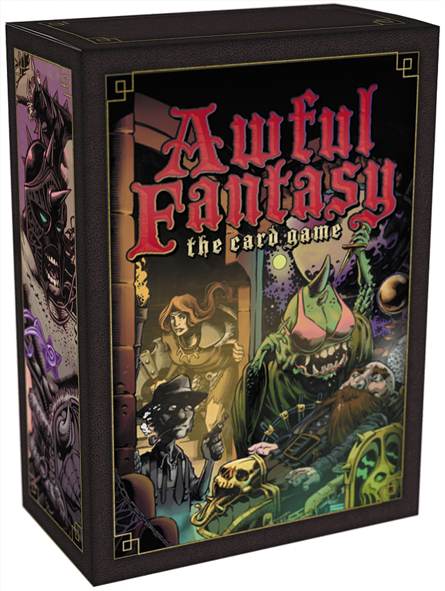 Awful Fantasy: The Card Game Box Front