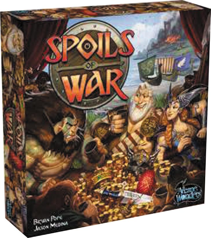 Spoils Of War Box Front