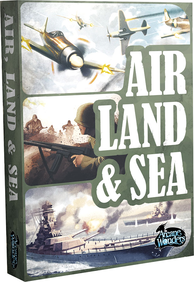 Air, Land & Sea Game Box