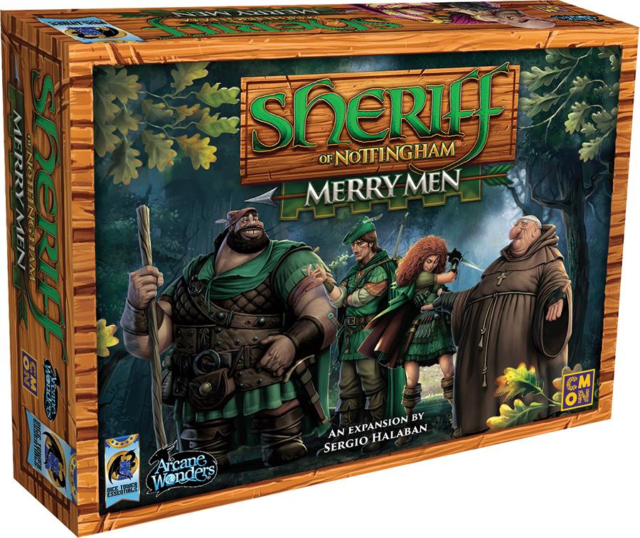 Sheriff Of Nottingham: Merry Men Expansion Box Front