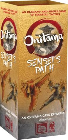 Onitama: Sensei`s Path Expansion Box Front