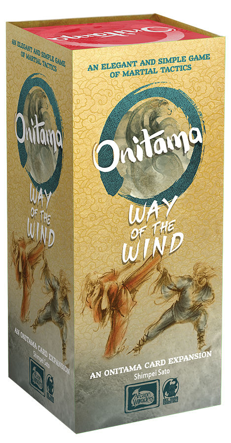 Onitama: Way Of The Wind Expansion Box Front