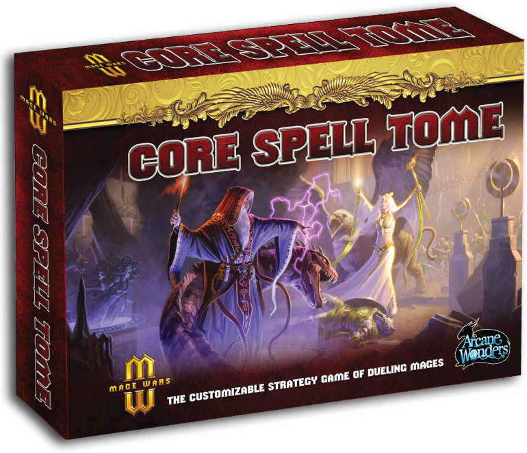 Mage Wars: Core Spell Tome Expansion Box Front