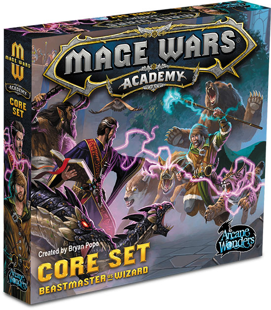 Mage Wars Academy: Core Set Box Front